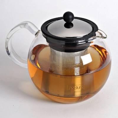Théière en verre filtre inox BODUM 1L  - Assam