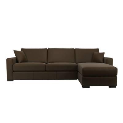 Canapé d'angle Cuir Confort