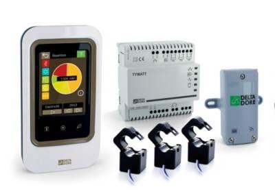 Indicateur de consommation d'énergie  écran tactile Tywatt 2000 DELTA DORE