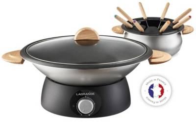 Wok & Service à fondue 349019 LAGRANGE