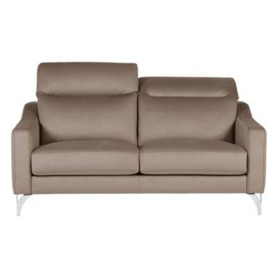Canapé fixe 3 places Tissu Contemporain Confort