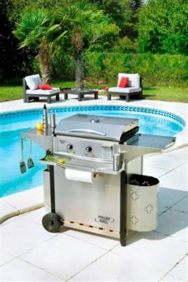 Couvercle de cuisson ROLLER GRILL avec charnière - Made In France