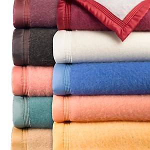 Couverture laine Woolmark Iseran OURSON