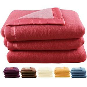 Couverture laine Woolmark Tignes 700 g