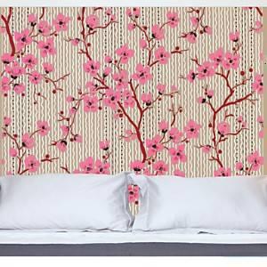 Tête de lit Cerisiers  MADEMOISELLE TISS