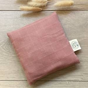 Bouillotte coton bio PITIGAIA , terracotta