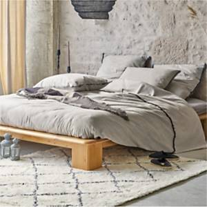 Drap housse flanelle Flavie