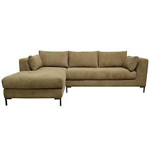 Canapé d'angle tissu Pornic