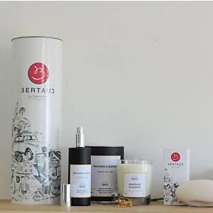 Coffret Printemps d'Oléron BERTAUD  (bougie parfumée, brume et savon)