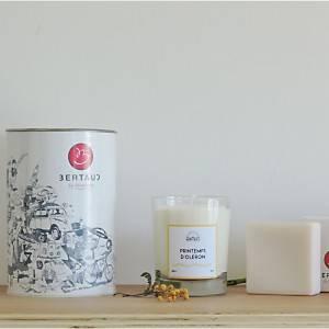 Coffret Senteurs d'Oléron BERTAUD  (bougie parfumée et savon)