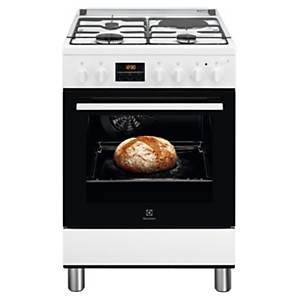 Cuisinière mixte LKM648588W ELECTROLUX