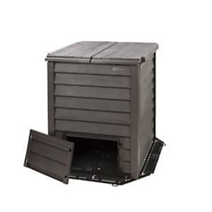 Kit composteur THERMO WOOD 400 litres imitation bois