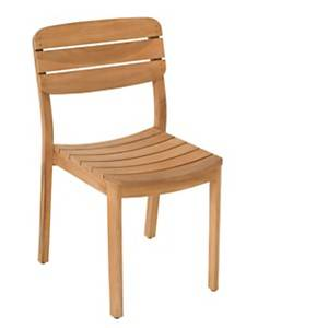 Lot de 2 chaises en teck Lodge VLAEMYNCK
