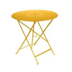 Table FERMOB FLOREAL Ø 77 cm Miel