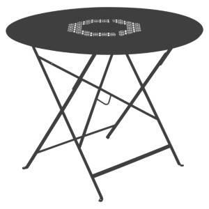 Table ronde pliante 96 cm Lorette FERMOB
