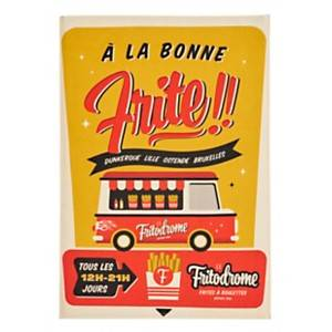 Torchon Mister Atomic Frites COUCKE