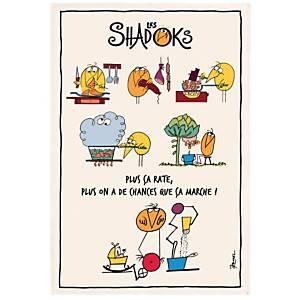 Torchon Shadoks en cuisine