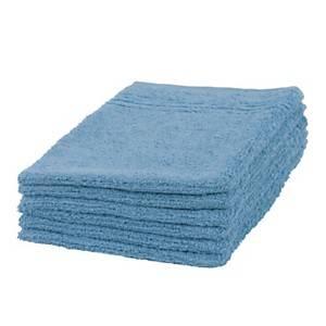 Lot de 2 gants de toilette coton Cradle2Cradle, Calypso CAMIF