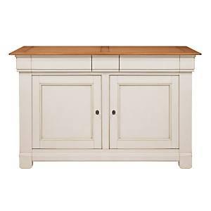 Buffet Embellie 2 portes, 3 tiroirs