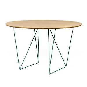 Table ronde 120 cm chevalet Pluriel