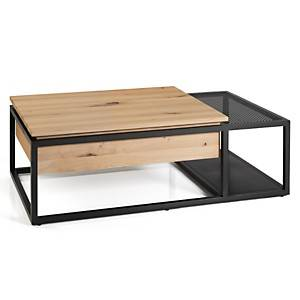 Table basse relevable Malloée