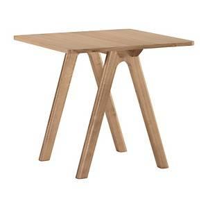 Table carrée Chevron
