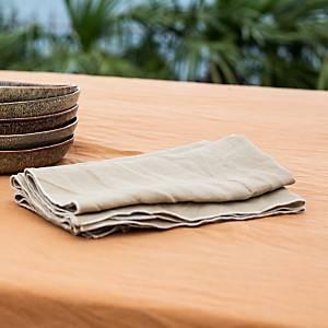 Lot de 6 serviettes lin lavé Salomé CAMIF