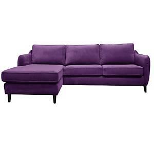 Canapé d'angle velours convertible  Prince