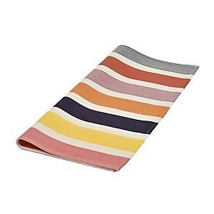 Lot de 6 serviettes de table ARTIGA , ocre