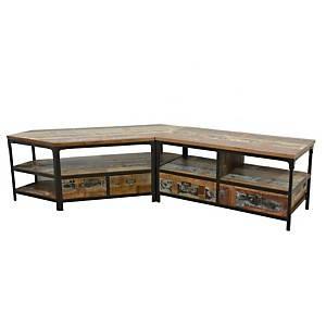 Meuble TV 4 tiroirs Industry