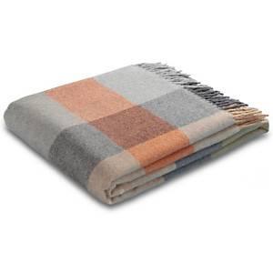 Plaid laine vierge Lison CAMIF, automne