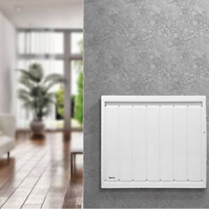 Radiateur Calidou horizontal Smart  ECOcontrol blanc NOIROT
