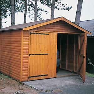 Garage de jardin CIHB modèle 2000,  pin autoclave