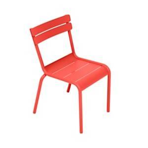 Chaise empilable enfant FERMOB Luxembour g Kid, coloris au choix