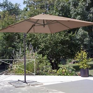 Parasol déporté carré 2.5 x 2.5 m  Pro Loisirs