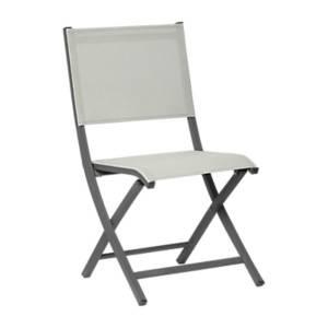 Lot de 6 chaises pliantes beige ARANO MEDICIS
