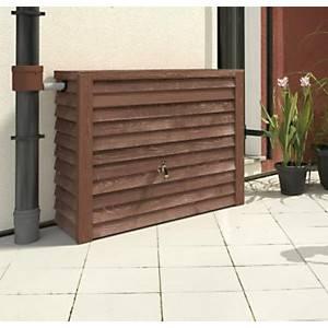 Réservoir 350 litres Woody  aspect bois foncé